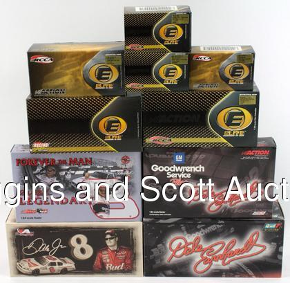 Dale Earnhardt Sr & Jr Die-Cast Replica Car Lot