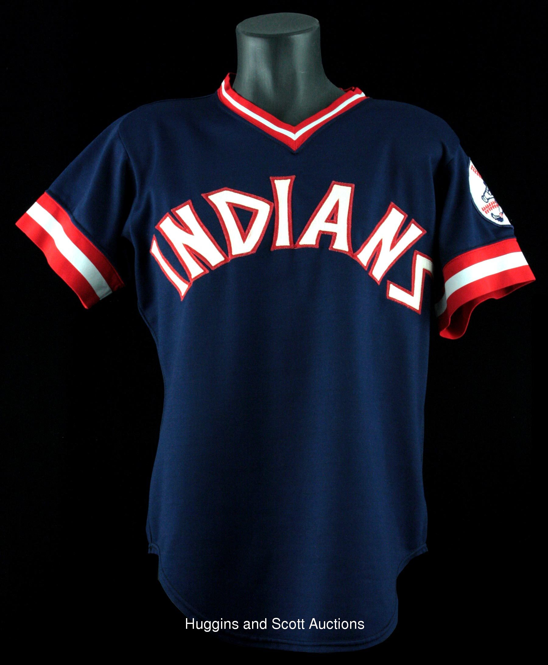 1975 cleveland indians jersey
